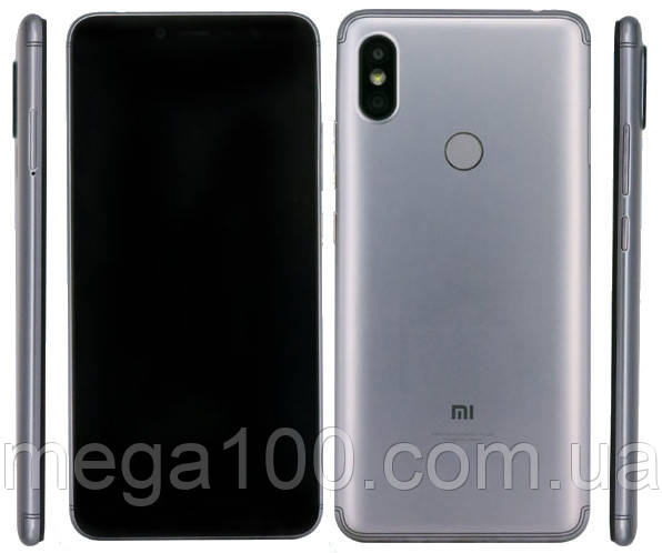 "Смартфон Xiaomi Redmi S2 цвет серый (""5,99 экран; памяти 3/32GB, батарея 3080 мАч)"