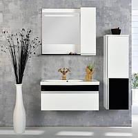 Зеркальный шкаф GOLD Ban-Yom Perla 85, 850х700х170 мм
