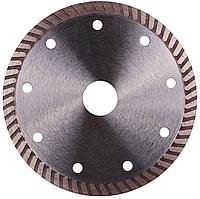 Круг алмазный Baumesser Turbo Universal 115 мм отрезной диск по бетону, кирпичу и тротуарной плитке для УШМ