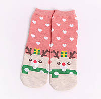 Носочки новогодние с оленями, фото 1