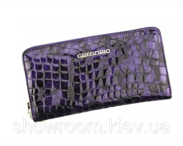 Женский кожаный кошелек Gregorio (S119) фиолетовый
