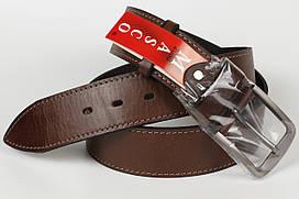 Ремень кожаный джинсовый Masco 45 мм