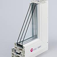 Металлопластиковое окно из профиля REHAU  Geneo