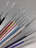 Кисть для дизайна и росписи ногтей (синтетический ворс), фото 2