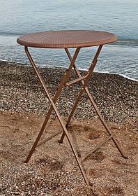 Складной барный стол 8103, d=80 см