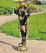 Садовая фигура цветочник Фараон большой и Жрица большая, фото 3