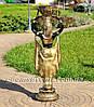 Садовая фигура цветочник Фараон большой и Жрица большая, фото 5