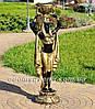 Садовая фигура цветочник Фараон большой и Жрица большая, фото 4
