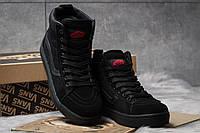 Женские зимние кроссовки на меху в стиле Vans Old School Winter, черные. Код товара: KW - 30727