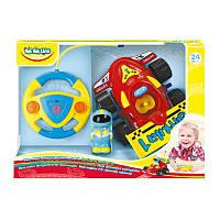 """58040. Детская пластиковая игрушка BeBeLino """"Моя первая гоночная машинка на Р/У"""""""