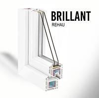 Металлопластиковое окно REHAU  Brillant-Design