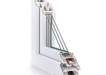 Металопластикове вікно з профілю REHAU Synego