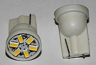 Автомобильные светодиоды W5W 6-SMD (3014)