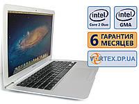 Ноутбук Apple Mac Book Air A1237 13.3 (1280x800) / Intel Core 2 Duo (2x1.6GHz) / Intel GMA X3100 / 2Gb / HDD 60Gb / АКБ 2,5 ч. / Сост. 8.5 БУ