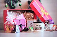 """Большой новогодний подарочный набор """"Coffee"""" с именным поздравительным письмом"""