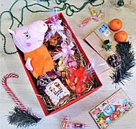 """Большой новогодний подарочный набор """"Christmas Peppa"""" с именным поздравительным письмом"""