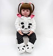Кукла реборн Марина, 48 см мягконабивная, ручная работа