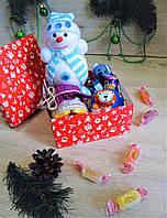"""Новогодний детский подарочный набор """"Happy toy"""""""