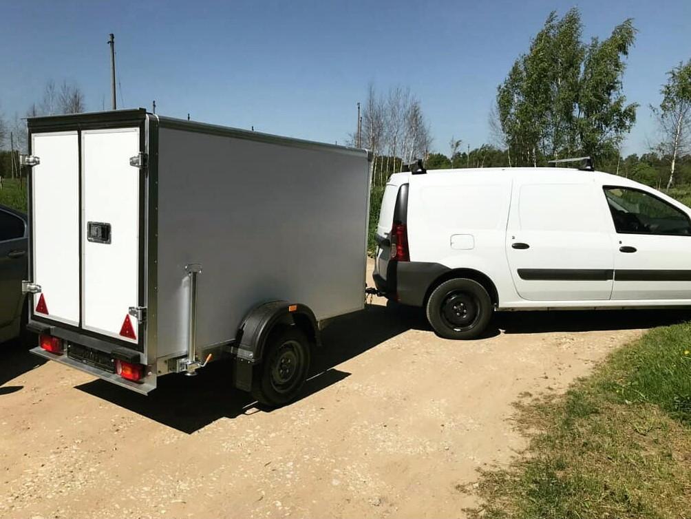 Прицеп-фургон для микроавтобуса