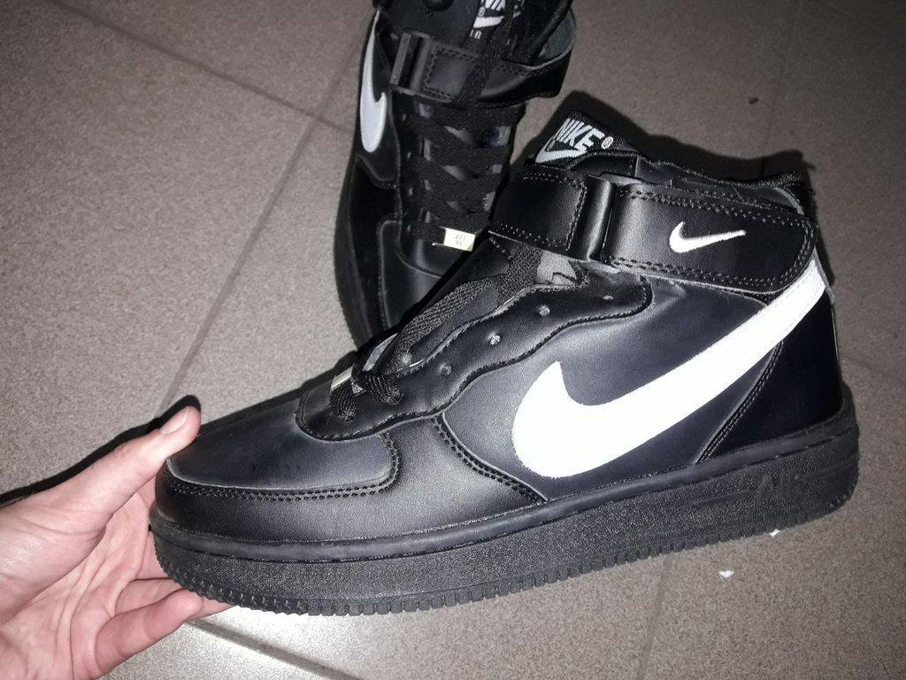 d693b31a Nike air ботинки 36-41 зима зимние мех нат кожа термо высокие кроссовки  женские подросток