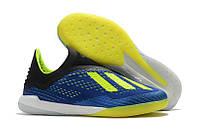 Мужские футзалки adidas X Tango 18 TF blue, фото 1