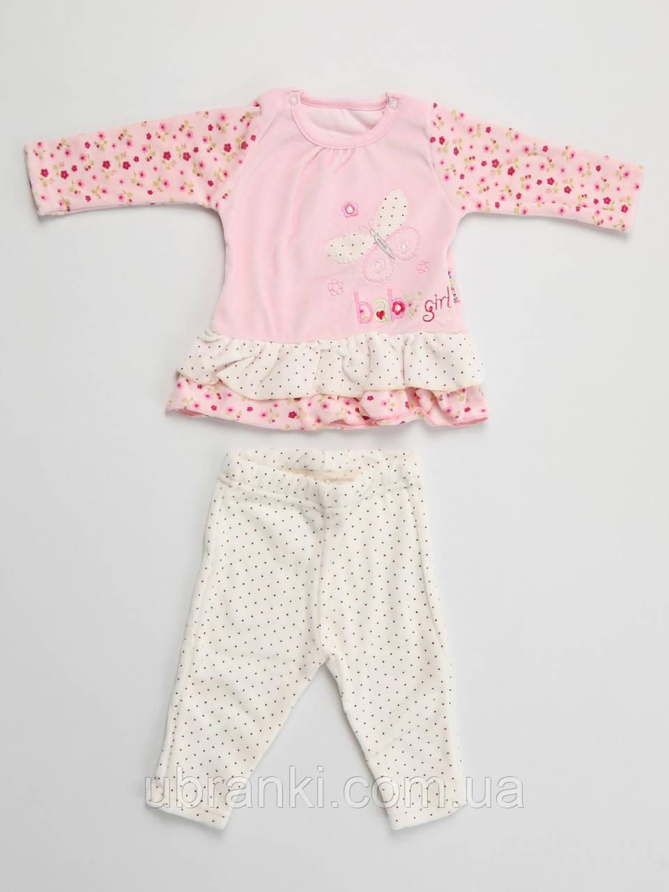 Комплект (платье, штанишки)