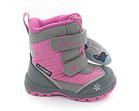 Детские термо ботинки зимние B&G termo (Би Джи) р. 23-27 модель 197-901