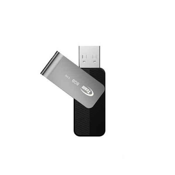 Флеш-накопитель USB 8GB Team C142 Black (TC1428GB01)