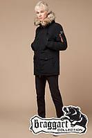 Зимняя теплая подростковая куртка-парка Braggart Youth 46-54 размер.Зимняя верхняя подростковая одежда