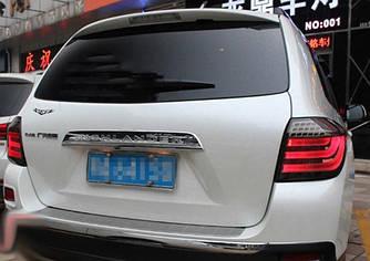 Диодные фонари LED тюнинг оптика Toyota Highlander XU40 тонированные