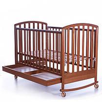 Детская кроватка Pali Ciak ciliegio с качалкой, фото 3