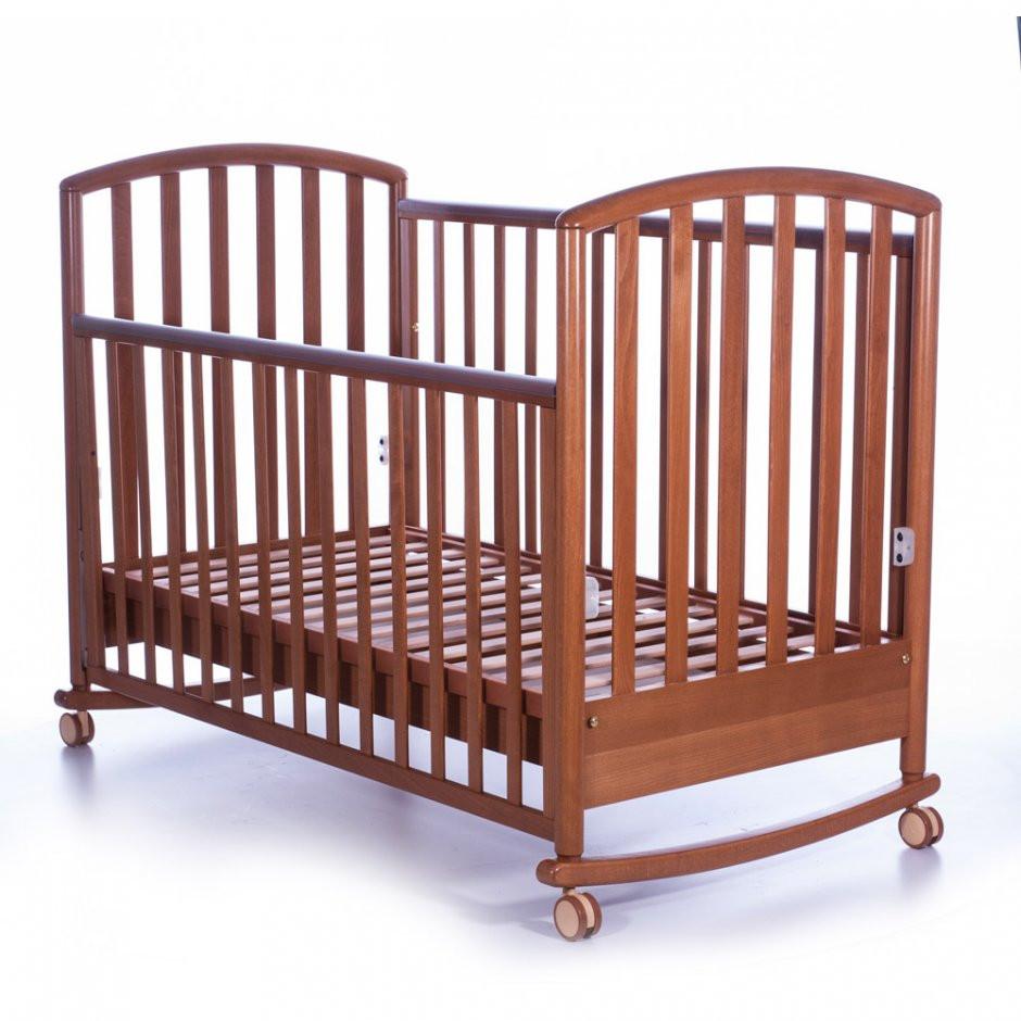 Детская кроватка Pali Ciak ciliegio с качалкой
