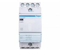 ESC427 Контактор 25A, 2НО+2НЗ, 230В  Hager