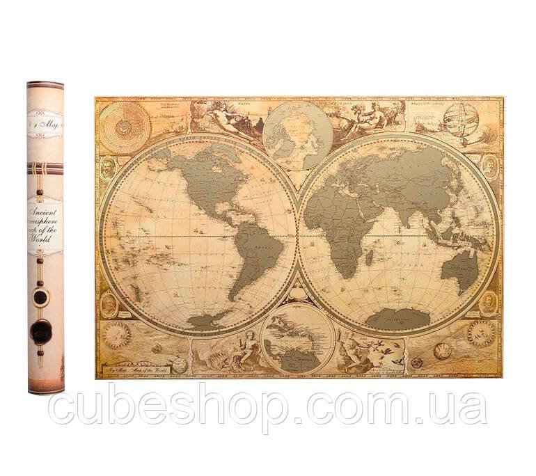 Скретч карта мира My Map Special edition (английский язык) в тубусе