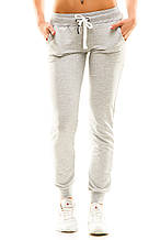 Женские спортивные штаны 406  меланж
