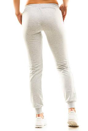 Женские спортивные штаны 406  меланж, фото 2