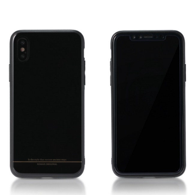 Чехол Remax Yarose (Luxury) Series Case for iPhone X RM-1653, Black