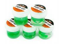 Горох силиконовый G.Stream Pop-Up зеленый с запахом гороха