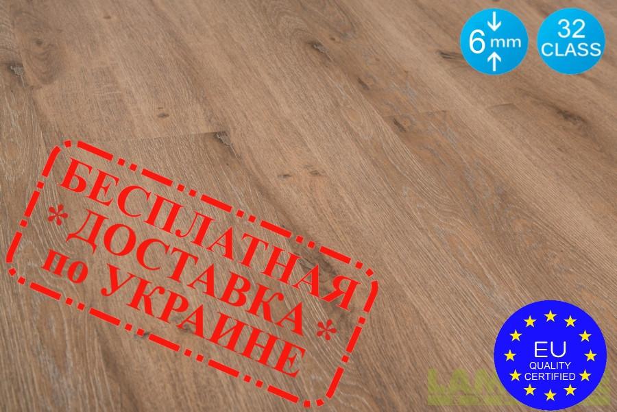 """Ламинат Spring Floor 32 класс """"Дуб этнический """" 6 мм толщина, пачка - 2,88 м.кв"""