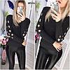 Вязаный женский свитер 185 Св, фото 2