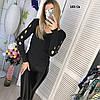 Вязаный женский свитер 185 Св, фото 4