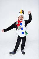 """""""Снеговик"""" Детский карнавальный костюм для мальчика, фото 1"""