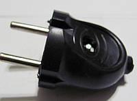 Вилка В6-176 10А черная
