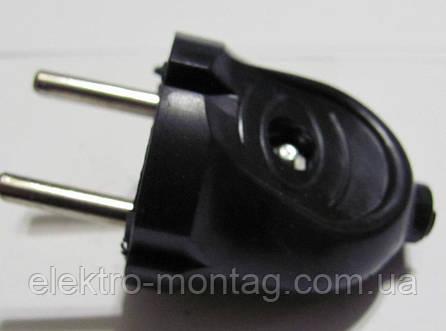 Вилка электрическая | В6-176 черная