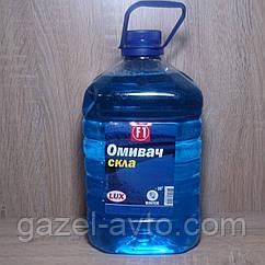 Омыватель стёкол зимний -20 Bubble Gum (голубой) (4,5л) (незамерзайка) (пр-во F1) из конц. Poland