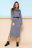 """Платье """"L-477"""" (серый)(размеры 44-52)"""