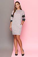 """Платье """"Дафи"""" (розовый)(размер S,M,L,XL), фото 1"""