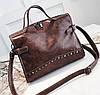 Кожаная женская сумочка , фото 2