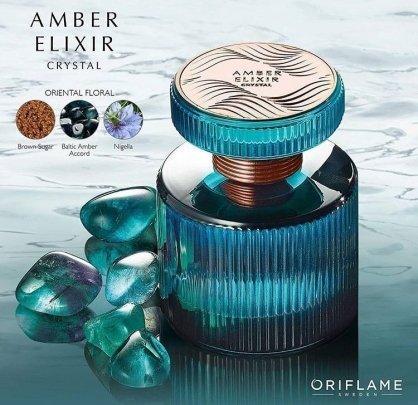 парфюмерная вода Amber Elixir Crystal эмбе иликсе кристал в
