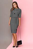 """Платье """"L-130"""" (серый)(размеры 44-50)"""